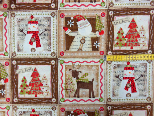 Holiday Stitches - Panel 14 Bilder, 30cm