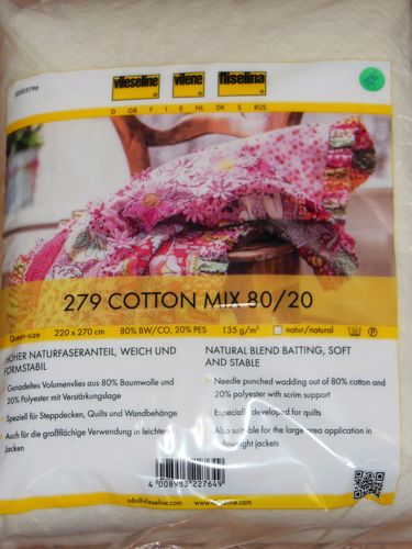 279 Cotton Mix 80/20