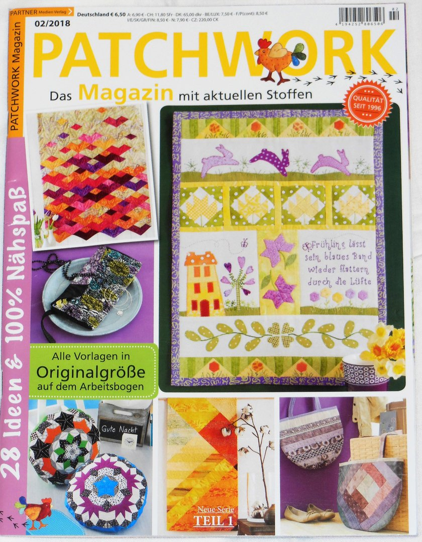 Patchwork Magazin 02 / 2018