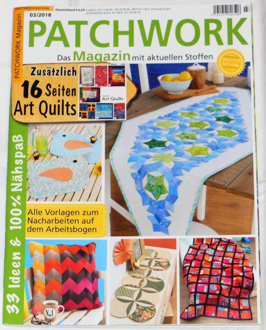 Patchwork Magazin 03 / 2018
