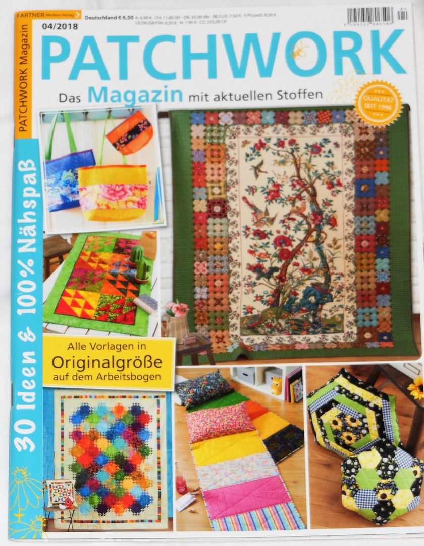 Patchwork Magazin 04 / 2018