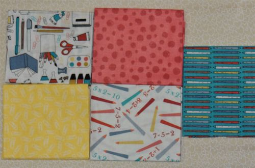 5 Fat Quarter: Back To School