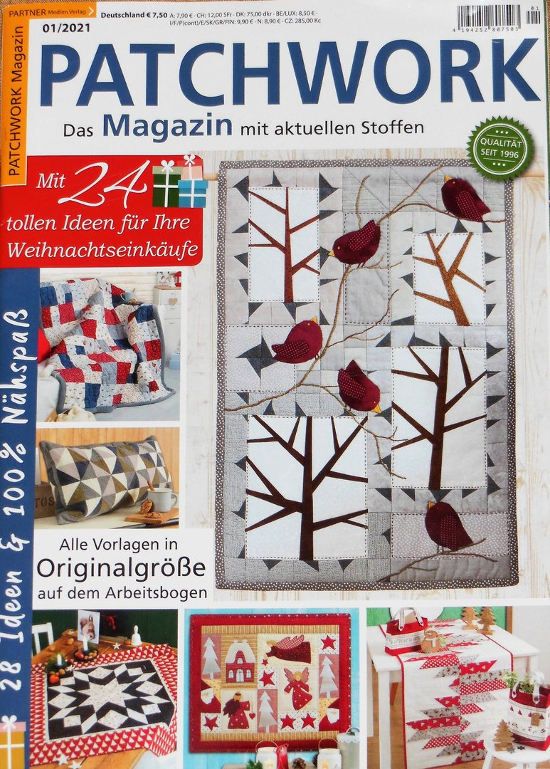 Patchwork Magazin 01 / 2021