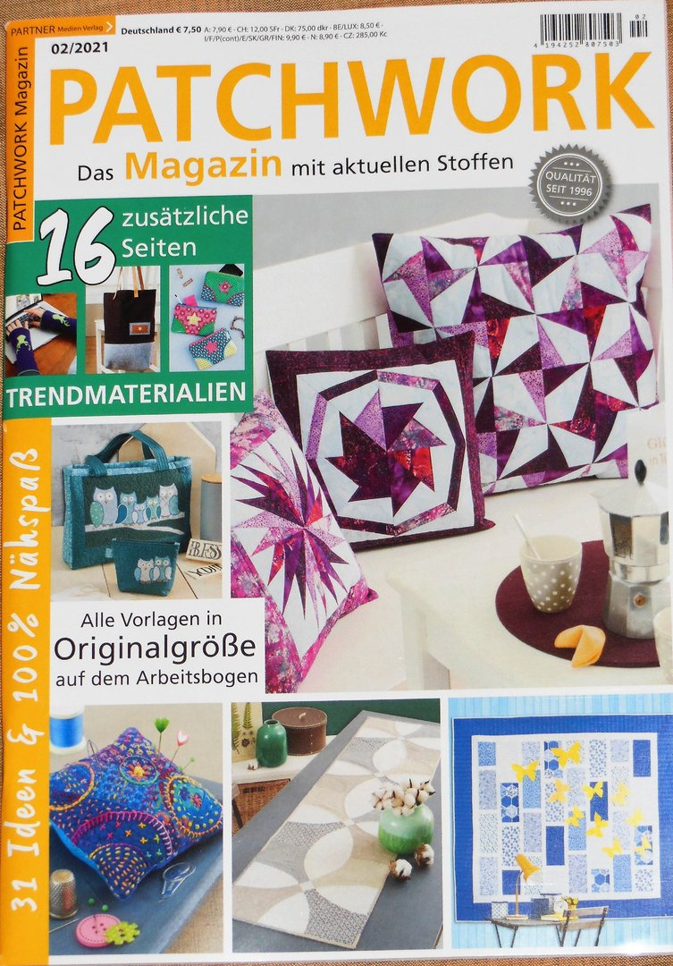 Patchwork Magazin 02 / 2021