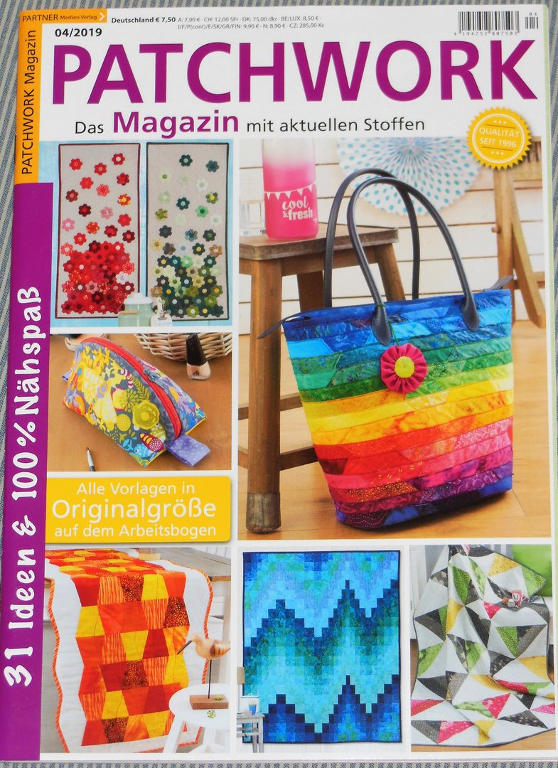 Patchwork Magazin 04 / 2019