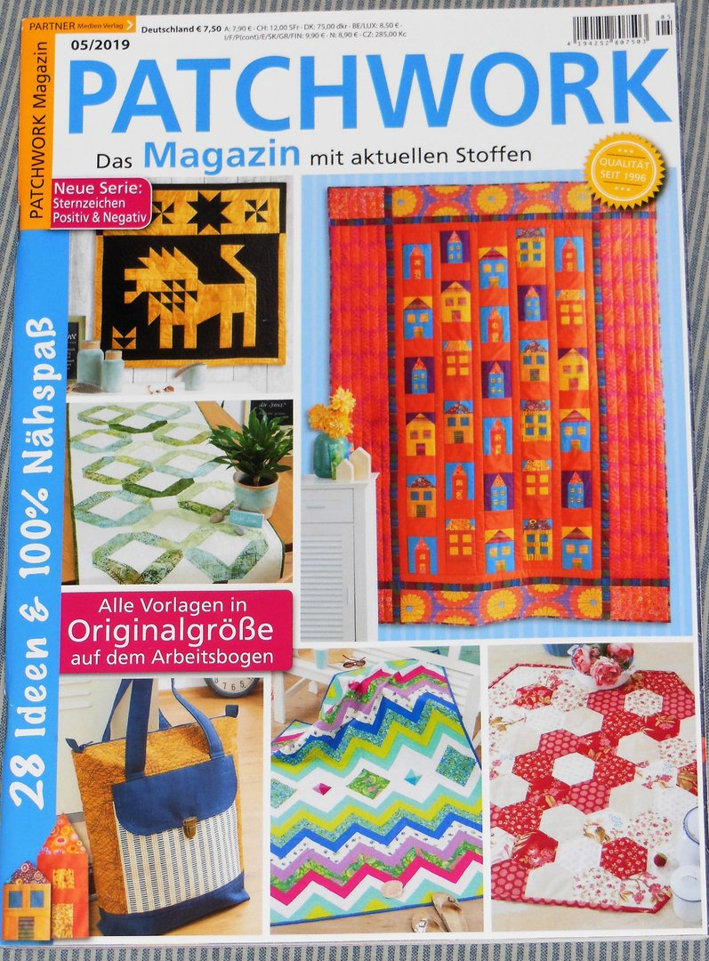 Patchwork Magazin 05 / 2019